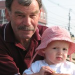 My Dad, with his beloved grandson, Drew.