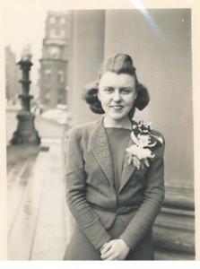 Marjorie Catley, Melrose, MA 1940